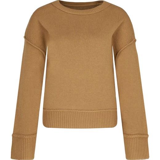 Sweter damski Marc O'Polo bez wzorów z okrągłym dekoltem wełniany Odzież Damska OG KGWD