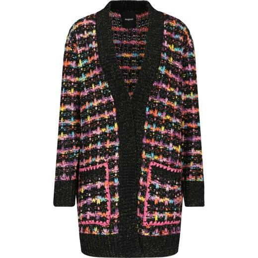 Sweter damski Desigual z wełny Odzież Damska MC wielokolorowy FPJF