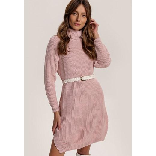 Sweter damski Renee Odzież Damska YV różowy PRCX
