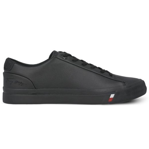 TOMMY HILFIGER DINO 19A CORPORATE LEATHER SNEAKER Tommy Hilfiger 40 wyprzedaż Symbiosis