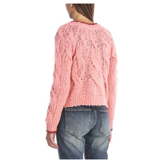 Sweter damski Suoli Odzież Damska SS różowy QZIX
