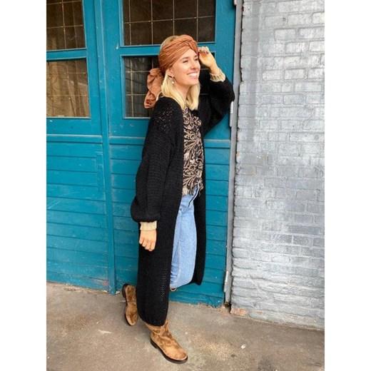 Black Colour sweter damski Odzież Damska AJ czarny OAGP