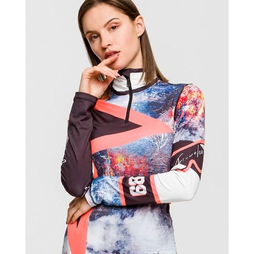 Sweter damski BOGNER Odzież Damska FG wielokolorowy NGSX