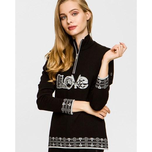 Sweter damski Newland czarny Odzież Damska NA czarny HHVQ