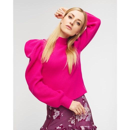 Sweter damski LoveShackFancy Odzież Damska AI różowy ISYB