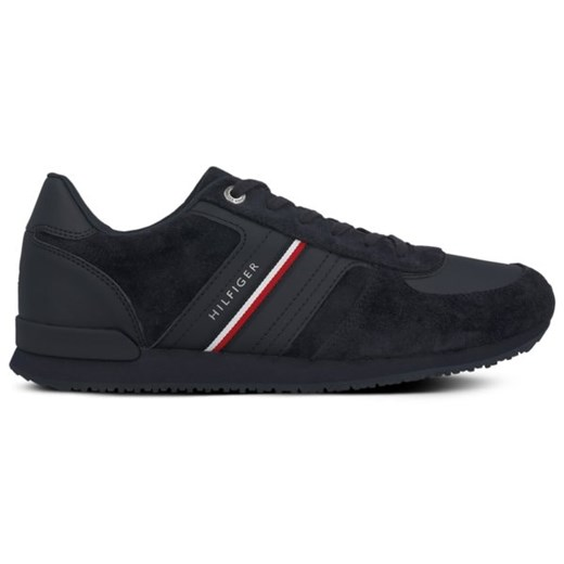 TOMMY HILFIGER MAXWELL 26B ICONIC SUEDE RUNNER Tommy Hilfiger 45 Symbiosis okazyjna cena