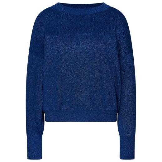 Sweter damski niebieski Guess Odzież Damska XF niebieski HQRR