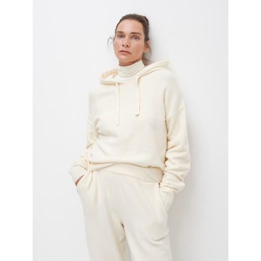 Sweter damski Reserved Odzież Damska GK beżowy OUQQ