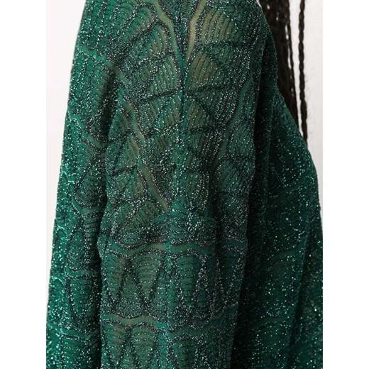 Sweter damski zielony M Missoni z okrągłym dekoltem Odzież Damska SI zielony MOIW