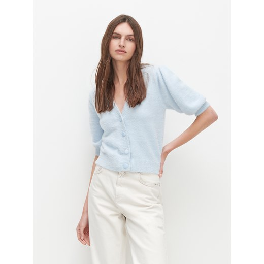 Sweter damski Reserved niebieski Odzież Damska LG niebieski POVK