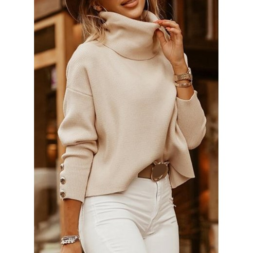 Sweter damski Sandbella Odzież Damska CL beżowy LLEH
