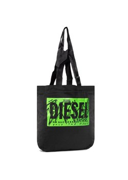 Czarna shopper bag Diesel
