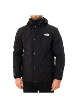 Kurtka męska czarna The North Face z poliestru casual