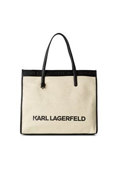 Karl Lagerfeld shopper bag duża matowa