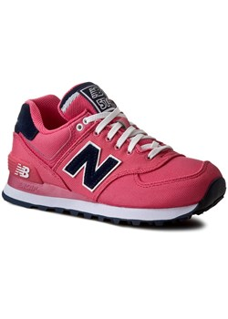 Sneakersy NEW BALANCE - WL574POP Różowy