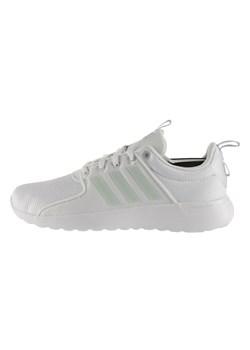 Białe buty sportowe męskie Nike sznurowane ze skóry ekologicznej wiosenne