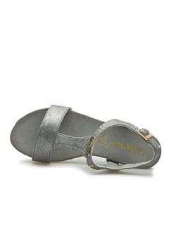Szare buty damskie sabatina w wyprzedaży, wiosna 2020 w Domodi