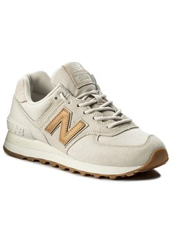 Sneakersy NEW BALANCE - WL574CLS  Beżowy