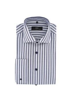 Szare koszule w paski męskie, jesień 2019 w Domodi  P5CIV