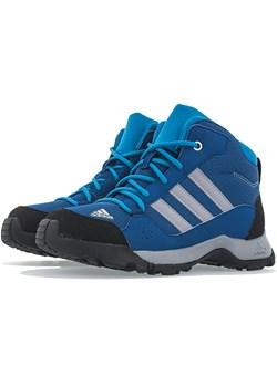 Buty trekkingowe dziecięce Adidas zamszowe