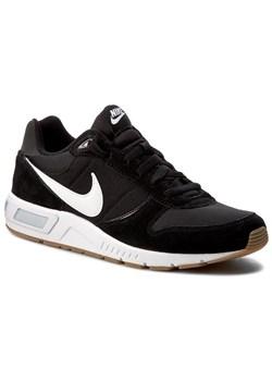 Czarne buty sportowe męskie Nike nightgazer sznurowane