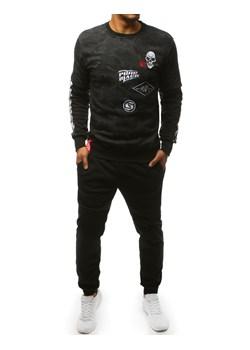 Dres męski Sportswear NSW Track Suit Woven Basic Nike (czarny) wyprzedaż SPORT SHOP.pl