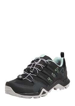 Buty trekkingowe damskie czarne Adidas Performance bez wzorów z gumy
