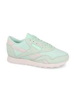 Buty sportowe damskie Reebok do biegania niebieskie z gumy w