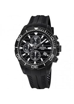Chrono Plack zegarek męski sportowy Festina czarny Royal Point