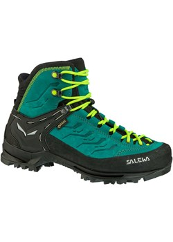 Turkusowe buty trekkingowe damskie, wiosna 2020 w Domodi