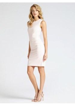 Sukienka bonprix turkusowy elastan