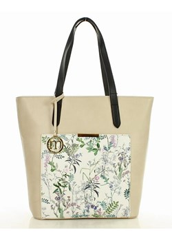 Shopper bag Monnari z breloczkiem