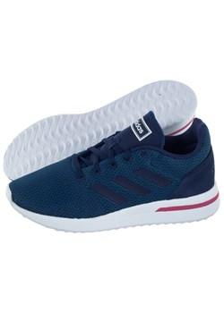 Buty sportowe damskie Adidas do biegania sznurowane na koturnie bez wzorów
