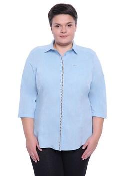 niebieskie koszule damskie duże rozmiary