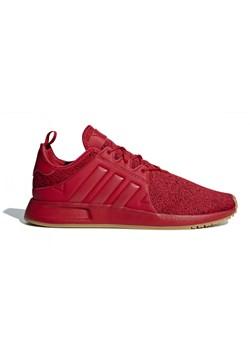 Czerwone buty sportowe męskie Adidas Originals x_plr sznurowane