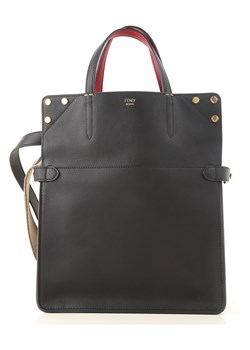 Shopper bag Fendi czarna