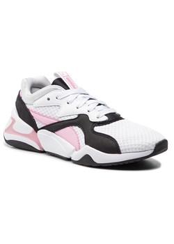 Puma buty sportowe damskie do biegania z nubuku wiązane płaskie