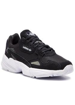 Adidas buty sportowe damskie do fitnessu bez wzorów młodzieżowe