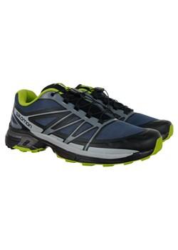 Granatowe buty męskie salomon, wiosna 2020 w Domodi
