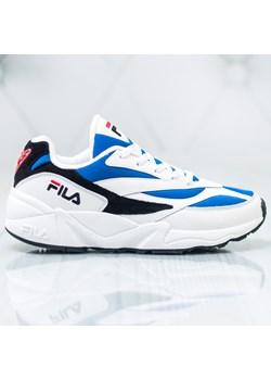 Fila buty sportowe męskie sznurowane białe młodzieżowe