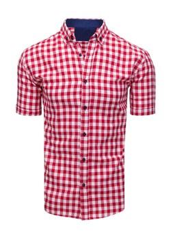Koszula w kratkę krótki rękaw z krótkim rękawem Reserved XL