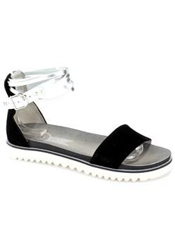 Sandały damskie wielokolorowe Gioseppo na lato płaskie bez wzorów casual