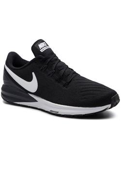 Nike buty sportowe damskie do biegania zoom bez wzorów z tworzywa sztucznego sznurowane