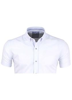 Koszula męska Mega z długim rękawem bez wzorów z klasycznym  bV1Ke