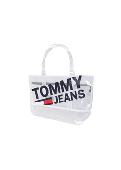 Shopper bag biała Tommy Hilfiger