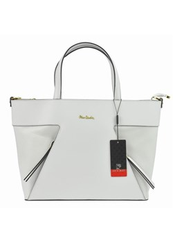Shopper bag Pierre Cardin skórzana