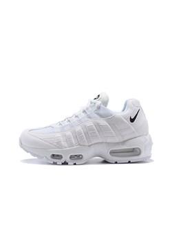 Buty sportowe damskie białe Nike dla biegaczy na wiosnę sznurowane