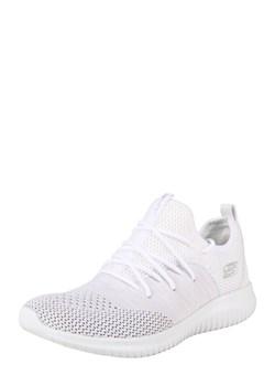 Buty sportowe damskie Skechers młodzieżowe białe wiązane na wiosnę