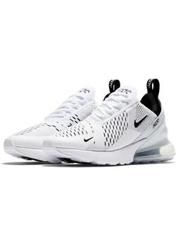 Białe buty sportowe damskie nike air max 270, wyprzedaże