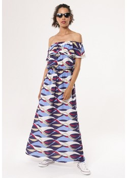 Sukienka Born2be w stylu boho na spacer maxi